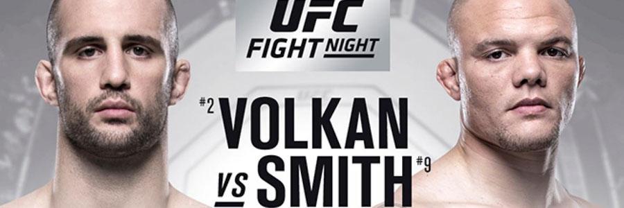 Volkan vs Smith UFC Fight Night 138 Odds & Prediction.