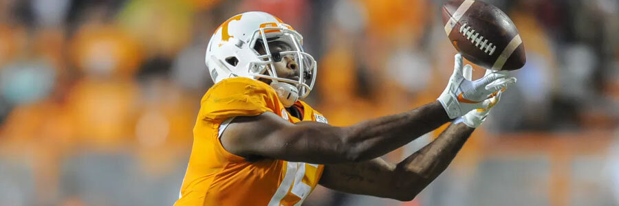 The Vols are favorites for College Football Week 10.