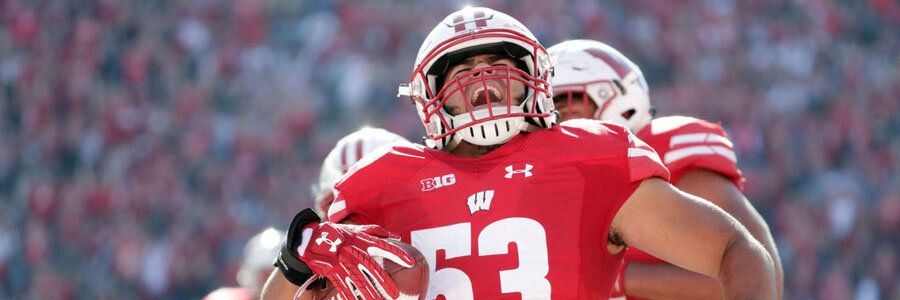 NCAAF Betting Lines & Week 9 Game Preview: Wisconsin at Illinois.
