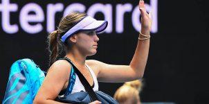 WTA 2021 Australian Open: Sofia Kenin Early Elimination