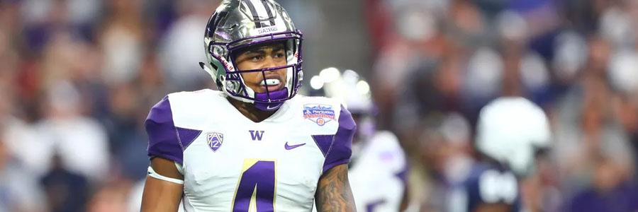 Eastern Washington vs Washington College Football Week 1 Odds & Analysis.