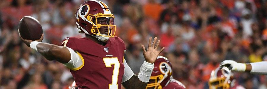 Bengals vs Redskins 2019 NFL Preseason Week 2 Lines & Game Preview.
