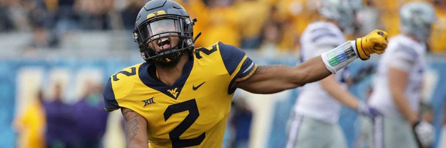 West Virginia vs Baylor 2019 College Football Week 10 Odds & Prediction.