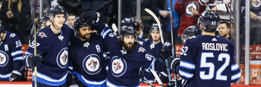 Blue Jackets at Jets should be a close one.
