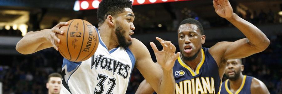 Timberwolves vs Pacers NBA Week 20 Odds & Expert Pick.