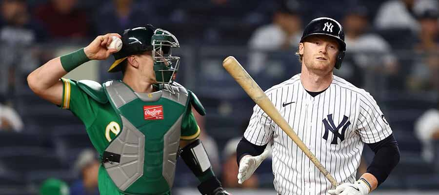 Yankees vs A's MLB