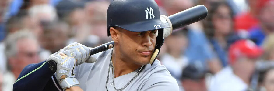 Giancarlo Stanton is one of the MLB Betting favorites to win the home-run crown during the 2019 season.
