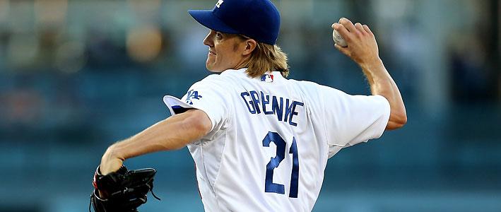 Zack Greinke - MLB Betting: Will Zack Greinke or Clayton Kershaw Win the Cy Young?