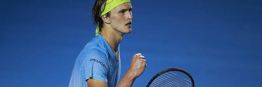 Alexander Zverev shouldn't be one of your Tennis Betting picks of the week.
