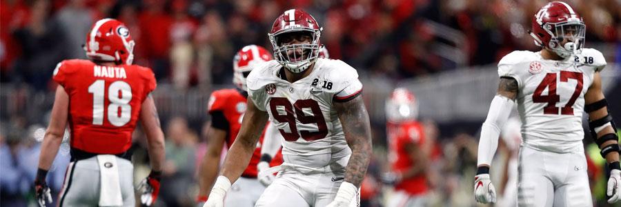 Alabama vs Duke 2019 College Football Week 1 Odds, Prediction & Pick