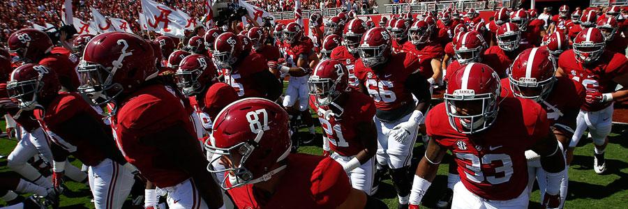 Alabama vs Arkansas NCAA Football Week 6 Lines & Preview
