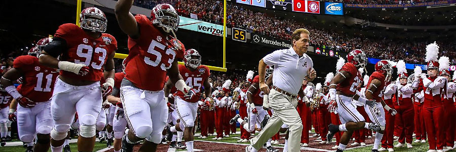 College Football Odds & Preview for Alabama vs. Tennessee Week 8 Showdown.