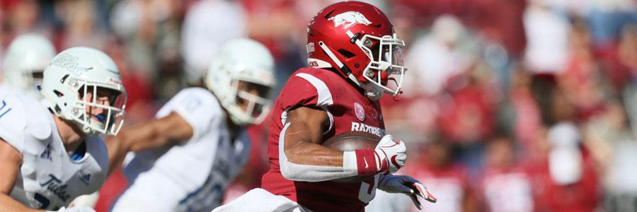Arkansas vs Mississippi State NCAA Football Week 12 Spread & Pick