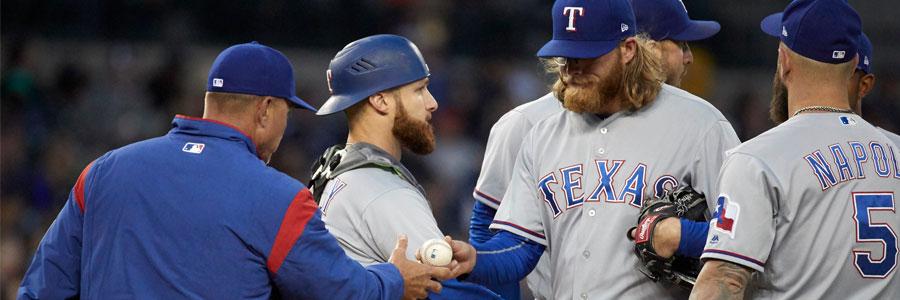 Friday Night MLB Betting Pick Between Astros at Rangers