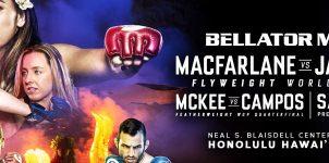 Bellator 236 Odds, MacFarlane vs Jackson Betting & Event Preview