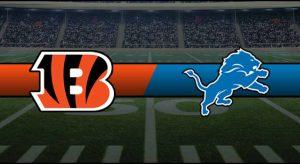 Bengals vs Lions Result NFL Score