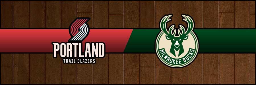 Blazers vs Bucks Result Basketball Score