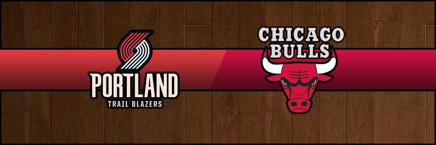 Blazers vs Bulls Result Basketball Score