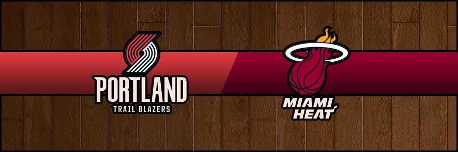 Blazers vs Heat Result Basketball Score