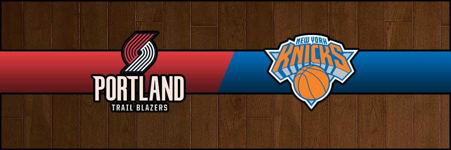 Blazers vs Knicks Result Basketball Score