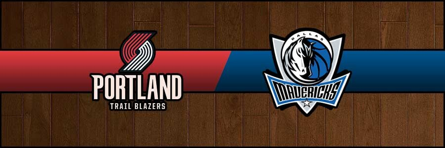 Blazers vs Mavericks Result Basketball Score