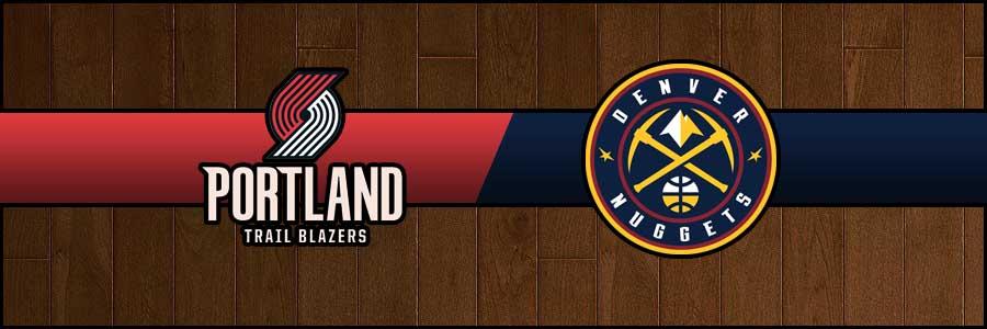 Blazers vs Nuggets Result Basketball Score