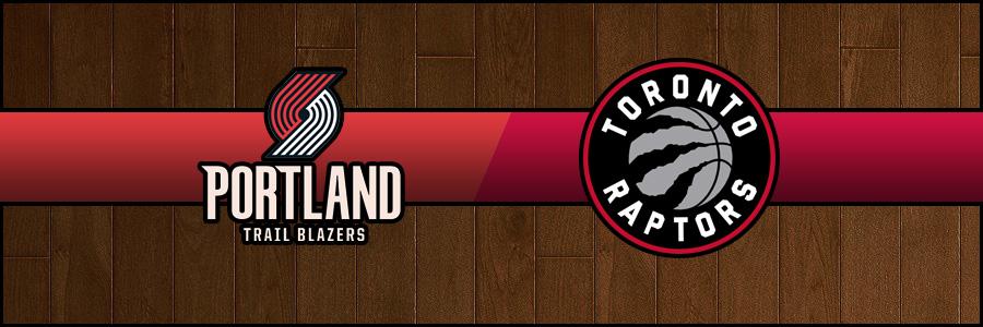 Blazers vs Raptors Result Basketball Score