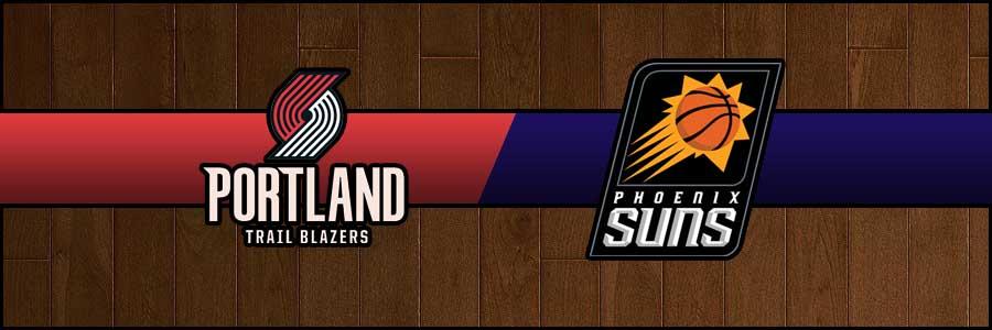 Blazers vs Suns Result Basketball Score