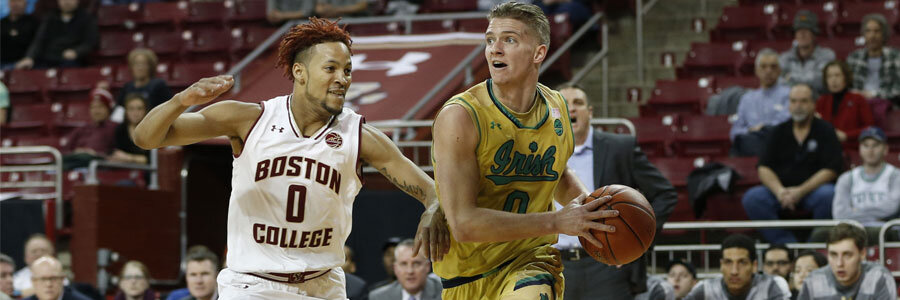 Boston College at Notre Dame Lines, Expert Pick & TV Info