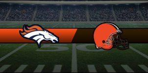 Broncos vs Browns Result NFL Score