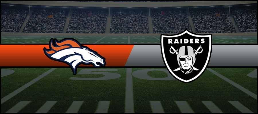 Broncos vs Raiders Result NFL Score
