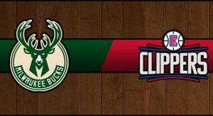 Bucks vs Clippers Result