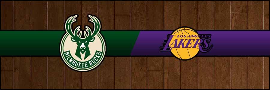 Bucks vs Lakers Result Basketball Score