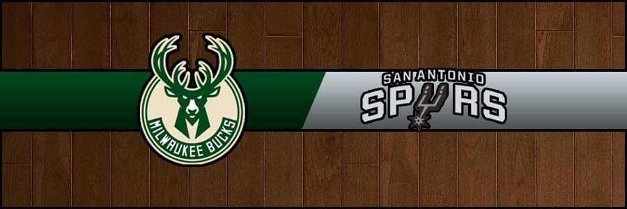 Bucks vs Spurs Result Basketball Score