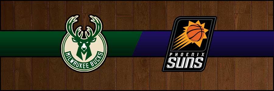 Bucks vs Suns Result Basketball Score