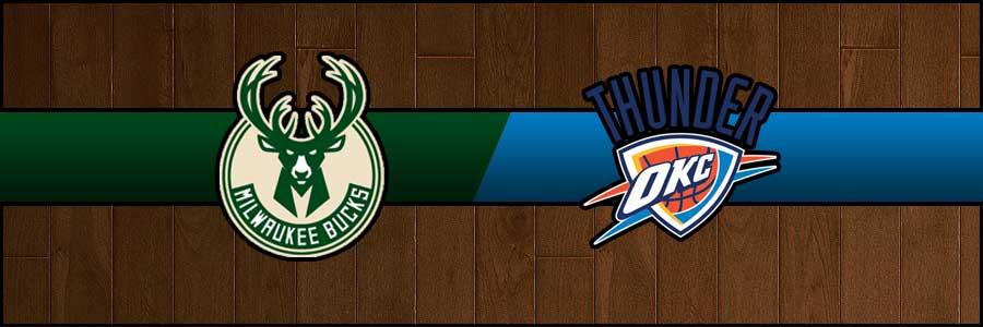 Bucks vs Thunder Result Basketball Score