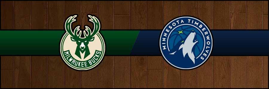 Bucks vs Timberwolves Result Sunday Basketball Score