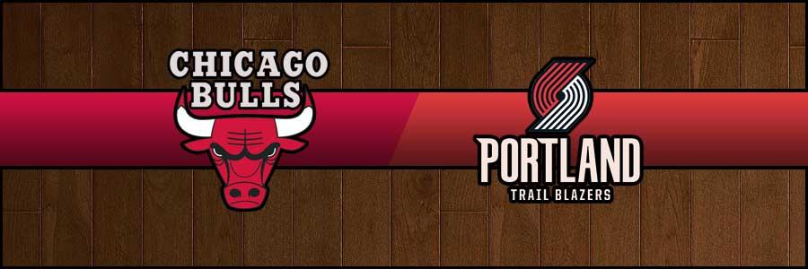 Bulls vs Blazers Result Basketball Score