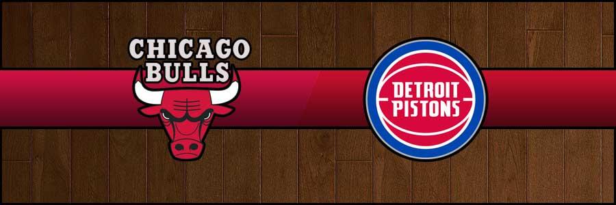 Bulls vs Pistons Result Basketball Score