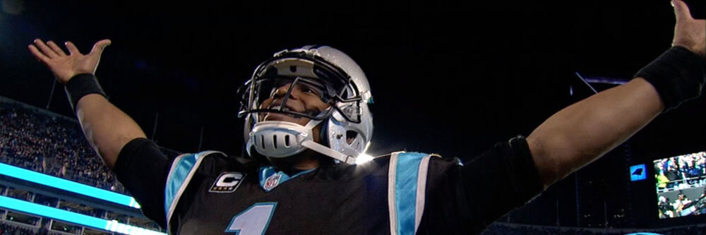 Cam Newton, contender for this season's MVP title.