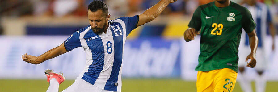 Honduras is the soccer odds favorite against Canada in the CONCACAF Gold Cup.