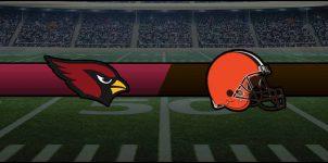 Cardinals vs Browns Result NFL Score