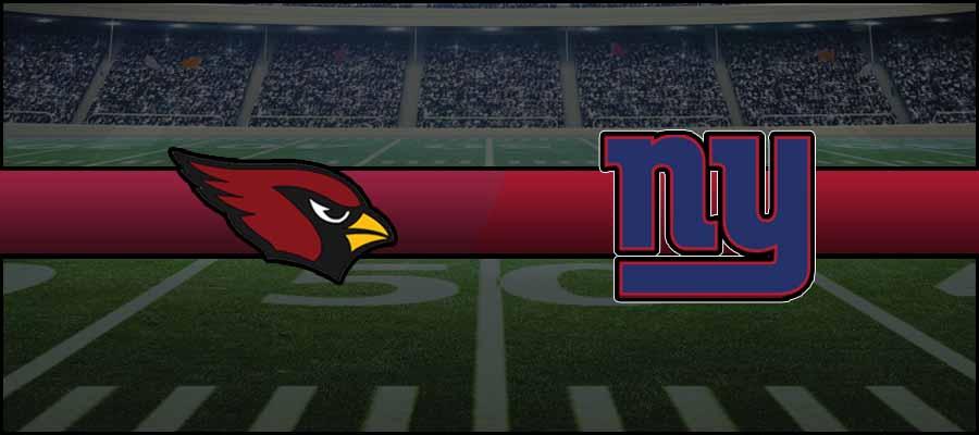 Cardinals vs Giants Result NFL Score