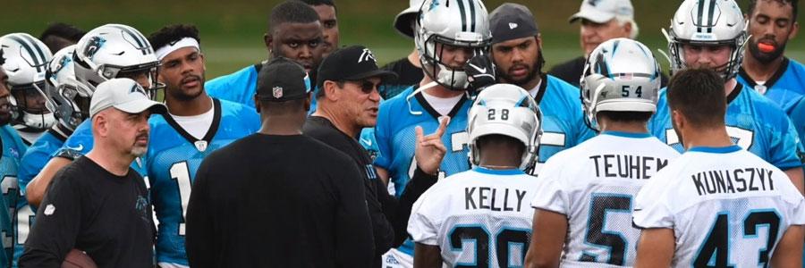 Carolina Panthers 2019 NFL Season Win/Loss Total Odds & Prediction