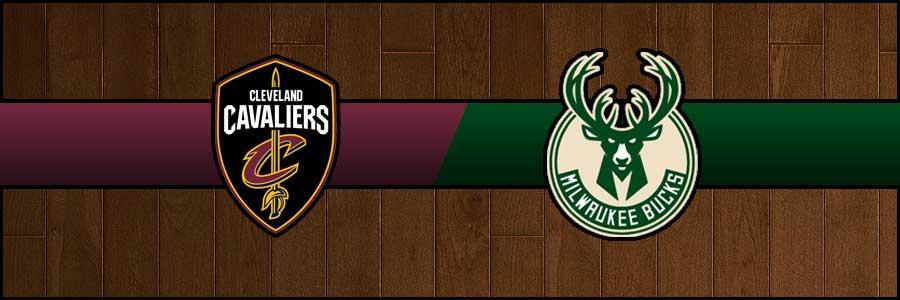 Cavaliers vs Bucks Result Basketball Score