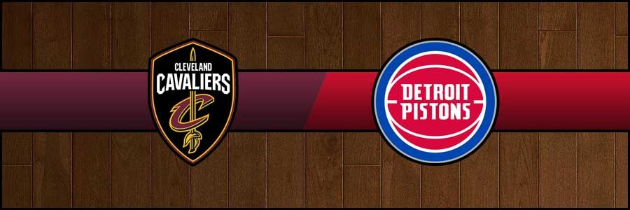 Cavaliers vs Pistons Result Basketball Score