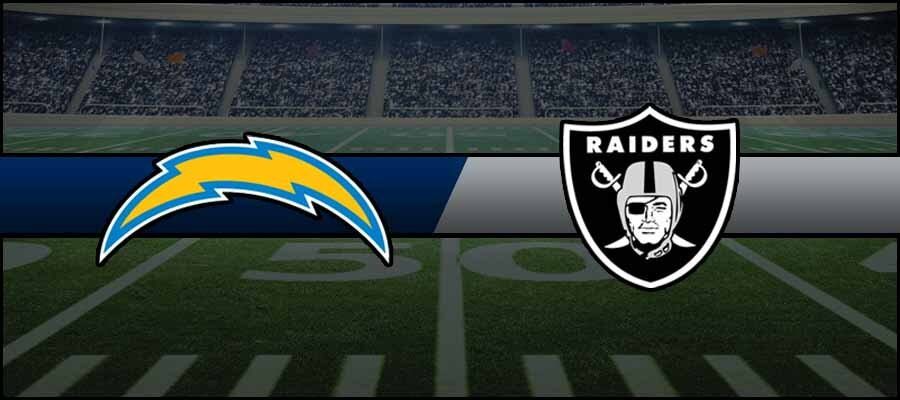 Chargers vs Raiders Result NFL