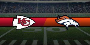 Chiefs vs Broncos Result NFL Score
