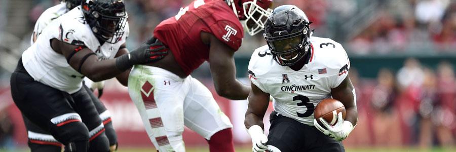 Cincinnati vs SMU NCAA Football Week 9 Lines & Analysis