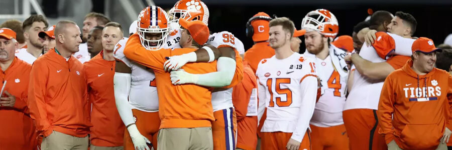 Updated 2020 College Football National Championship Odds - August 20th Edition